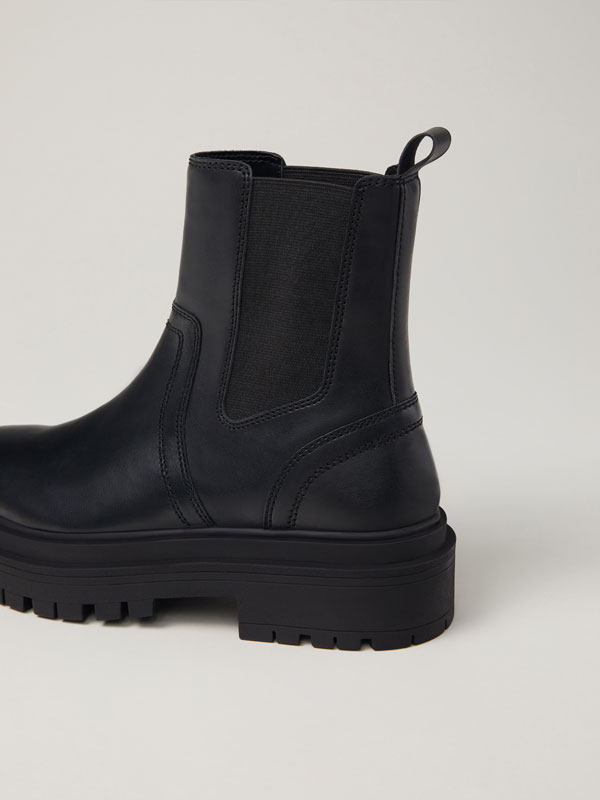 Chelsea boots with chunky soles