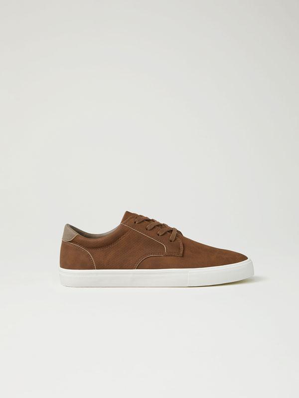 Derby shoe sneakers
