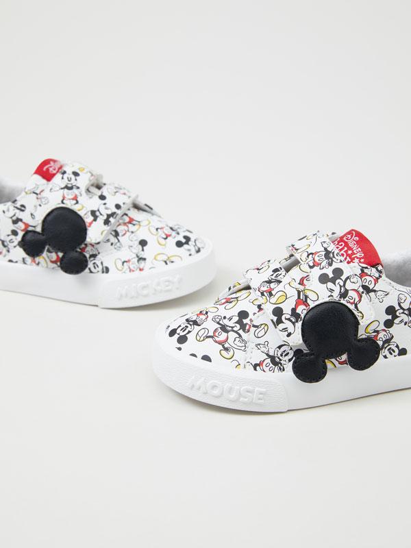 Mickey © DISNEY print sneakers