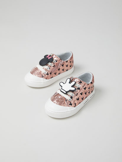 Minnie Mouse © DISNEY sneakers with glitter