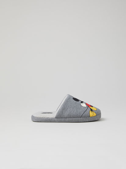 Mickey Mouse © DISNEY print slippers