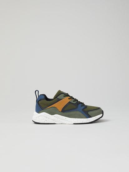 Multi-piece sneakers
