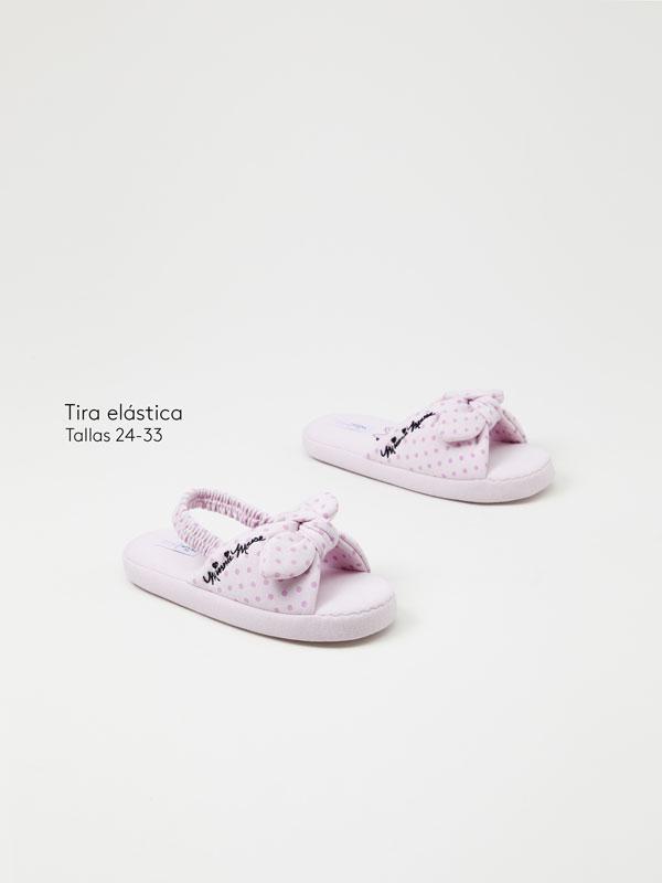 Minnie © DISNEY house slippers