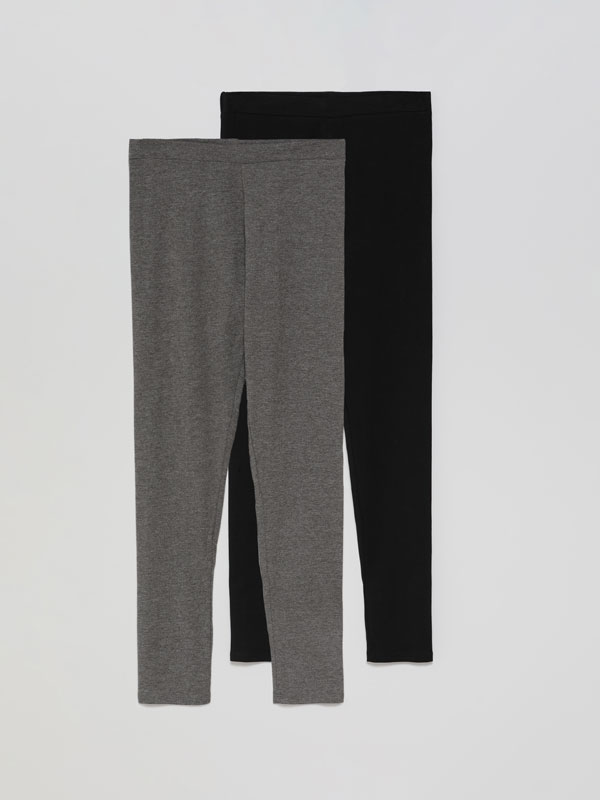 Paquet de 2 leggings llargs