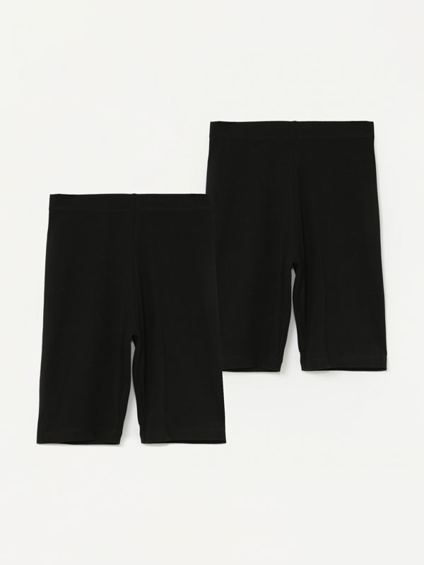 Pack de 2 leggings ciclistas