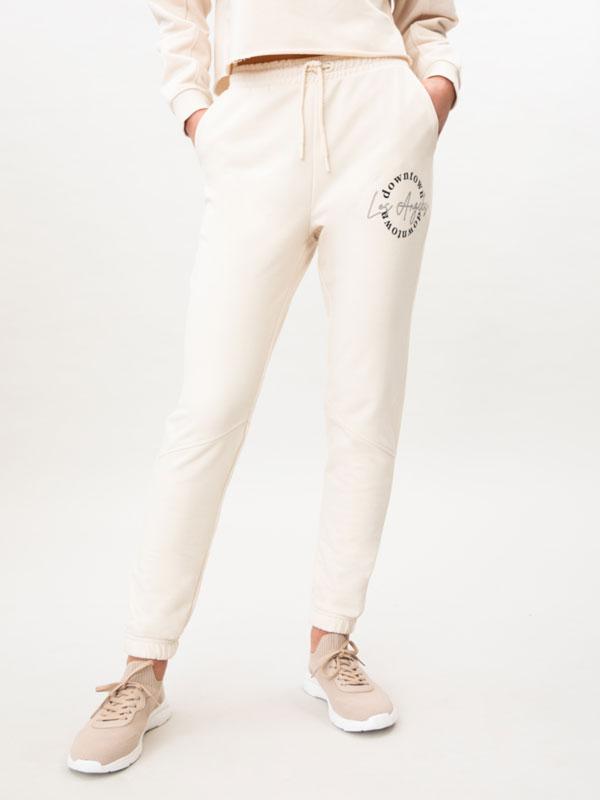Pantalons de xandall amb estampat