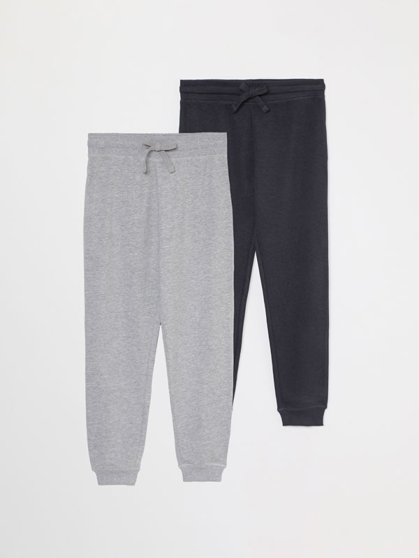 Paquet de 2 pantalons de xandall bàsics