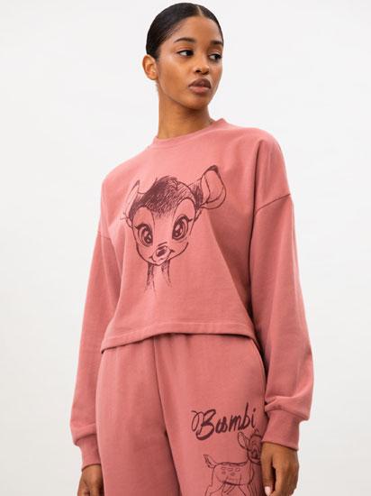Bambi © Disney print sweatshirt