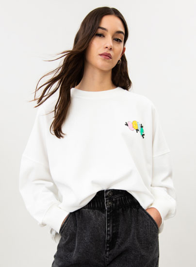 Sweatshirt de Mickey & Minnie love ©Disney