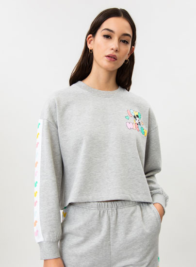 Mickey Mouse ©Disney print tracksuit sweatshirt