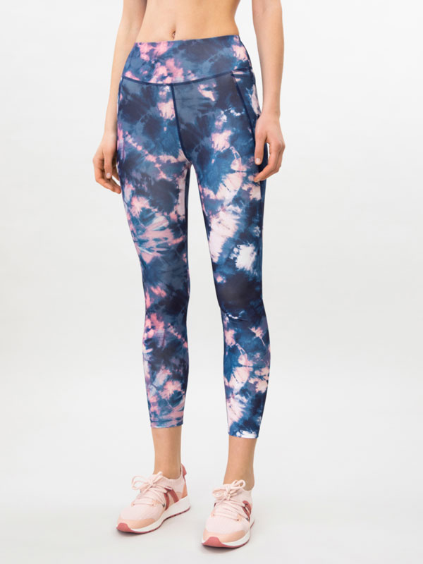 Leggings desportivas estampadas
