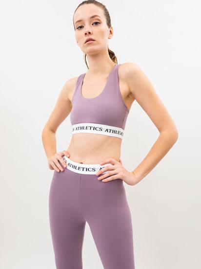 Conjunto deportivo de sujetador y legging