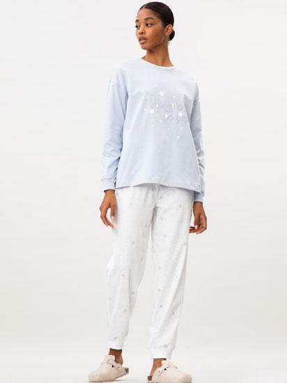 Pijama-konjunto estanpatua