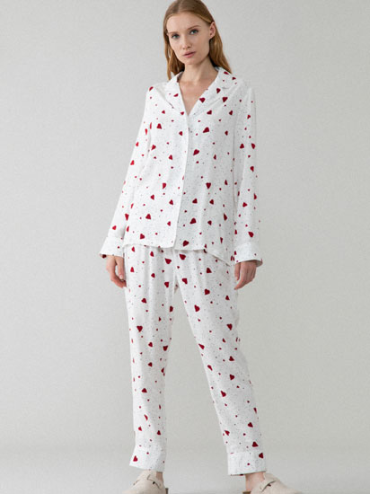 Open romantic pyjama set