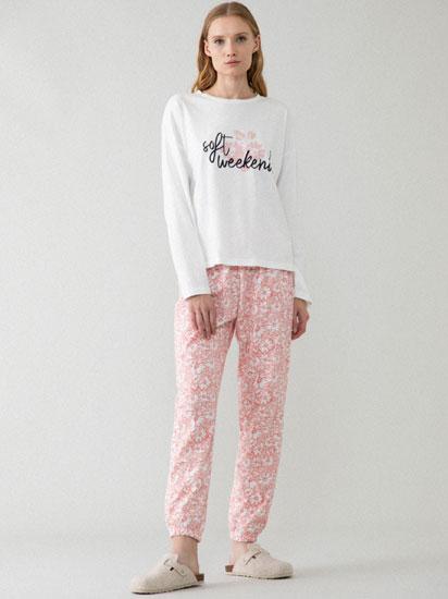 Conjunt de pijama estampat floral