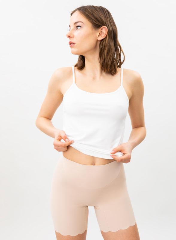 Microfibre shapewear shorts