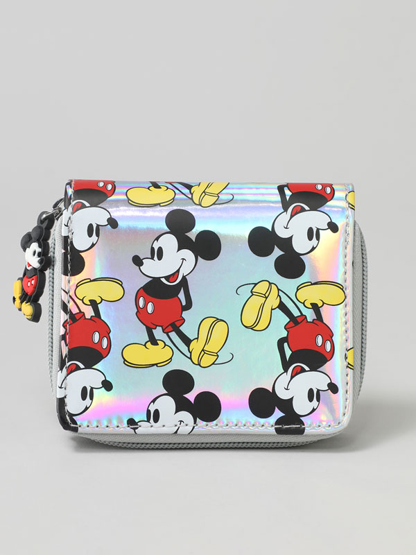 Porta-moedas com estampado do Mickey Mouse ©Disney