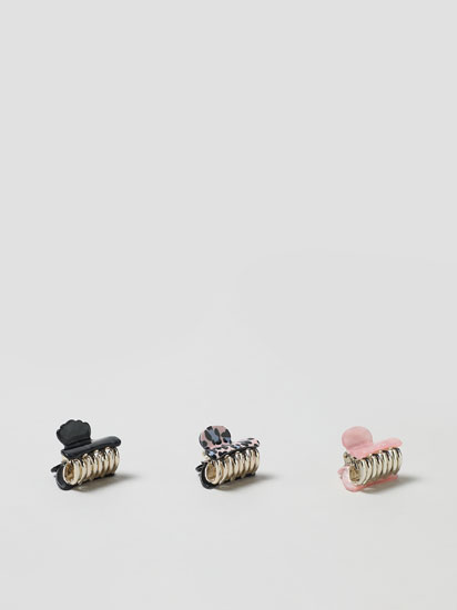 Pack of 3 hair clips