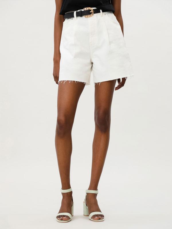 Slouchy Bermuda shorts