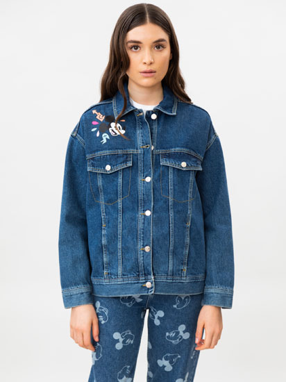 Mickey © Disney print denim jacket
