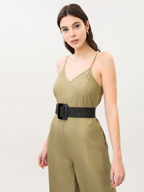 Long lightweight jumpsuit