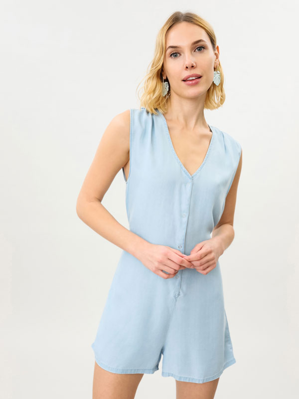Lightweight playsuit