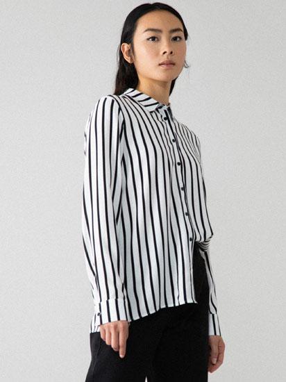 Camisa básica de viscose