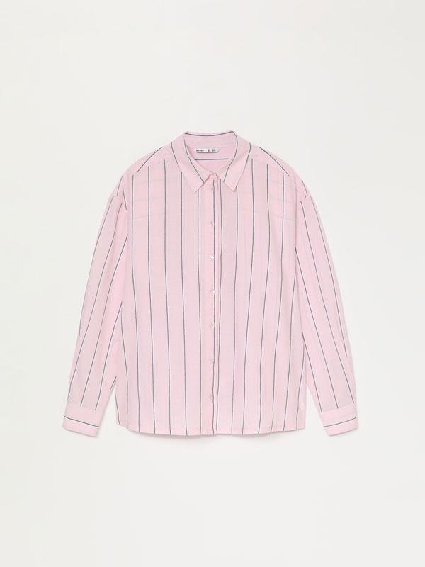 Camisa de popelina oversize