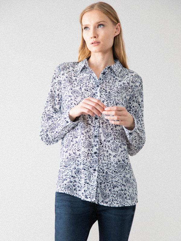Camisa amb textura
