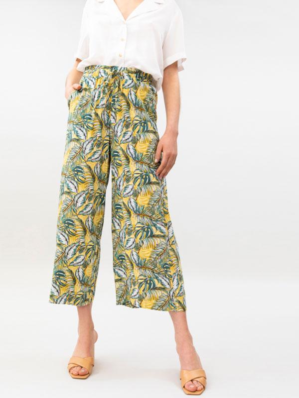 Printed culottes
