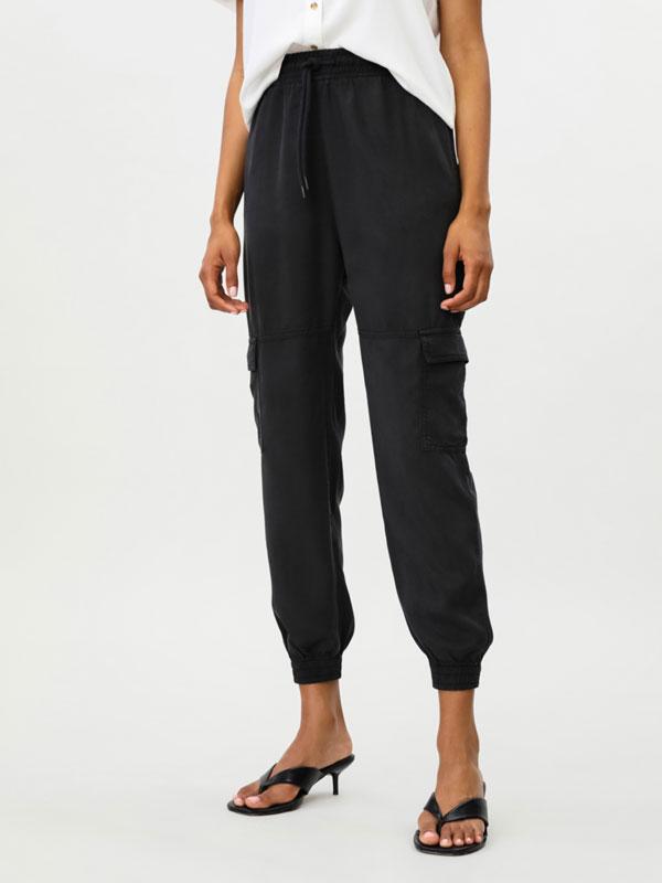 Pantalons de butxaques de lyocell