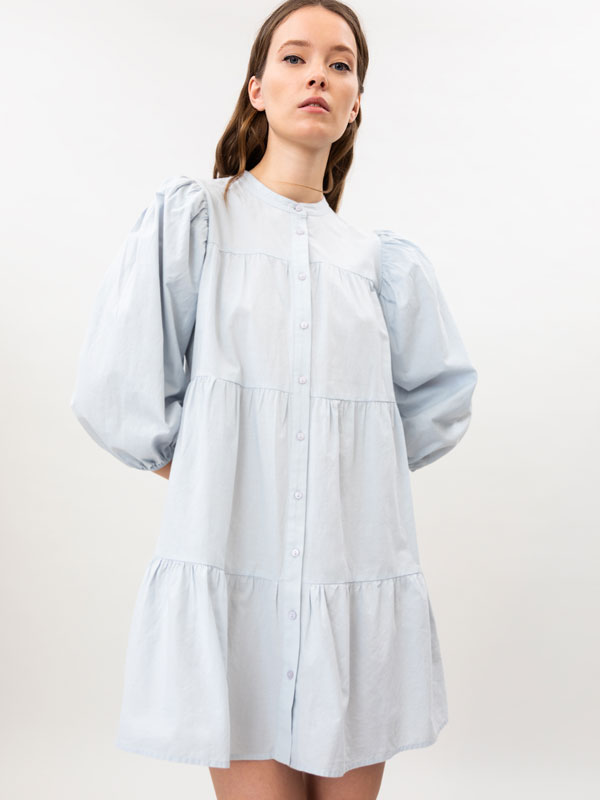 Vestido de popelina