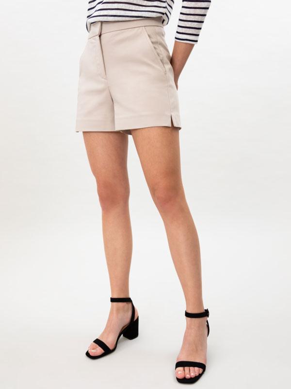 Pantalons curts high waist