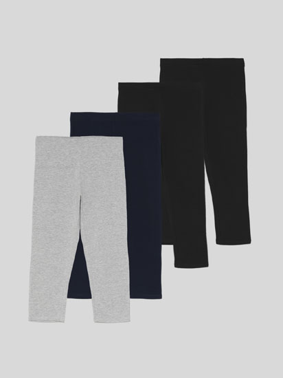 Pack de 4 leggings cortos