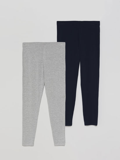 2-Pack of long leggings
