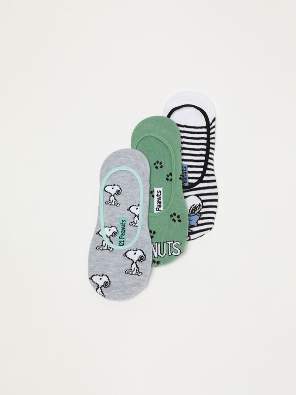 Pack of 3 pairs of Snoopy - Peanuts™ socks