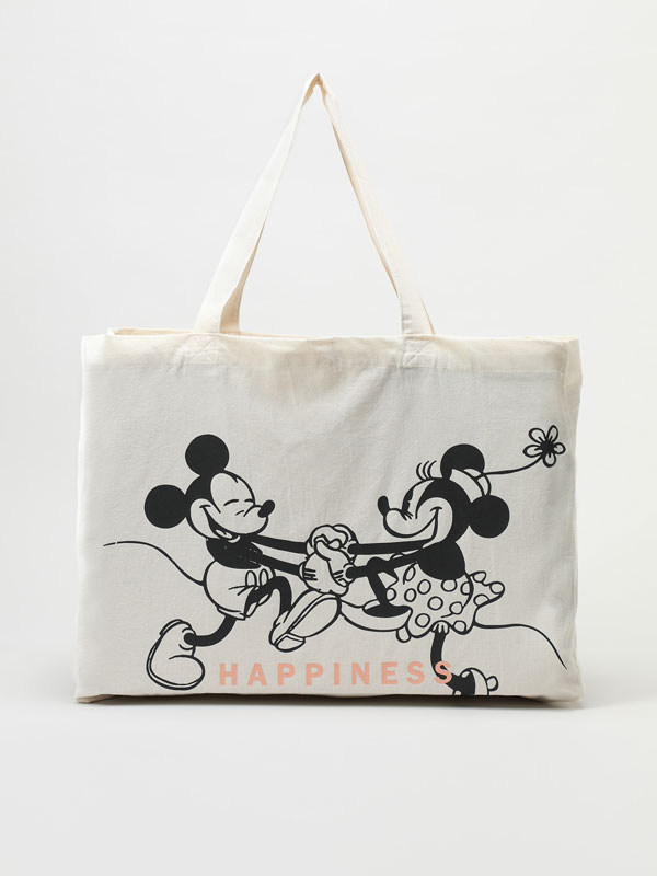 Bolso shopper de Mickey&Minnie ©DISNEY