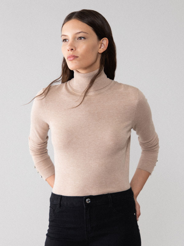 Basic turtleneck sweater