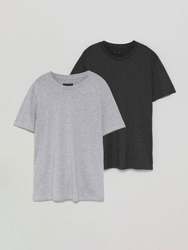 Pack de 2 samarretes bàsiques