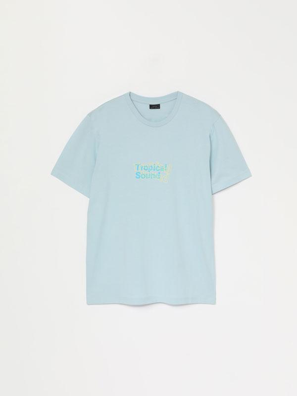 Camisetas con maxiestampado