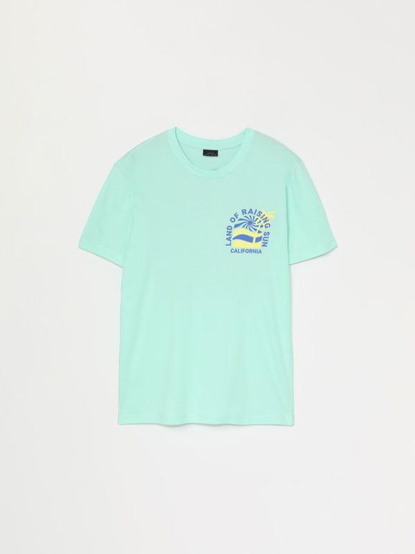 Short sleeve printed T-shirts