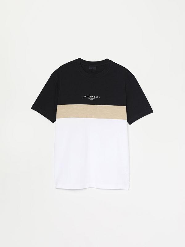 Colour block T-shirt