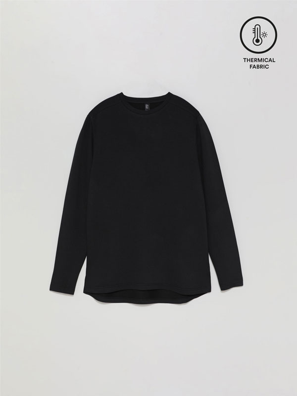 Thermal sports T-shirt