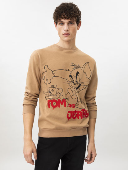 SUDADERA TOM & JERRY © &™ WBEI