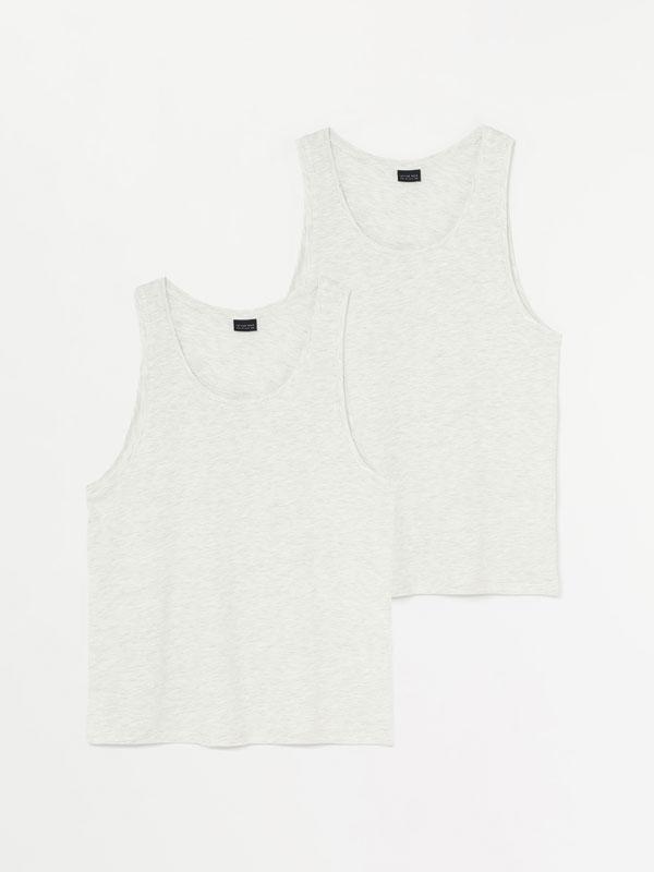 2-Pack of vest tops