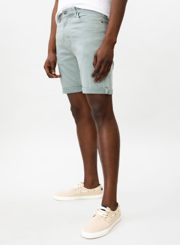 Bermudas de cor Comfort Slim