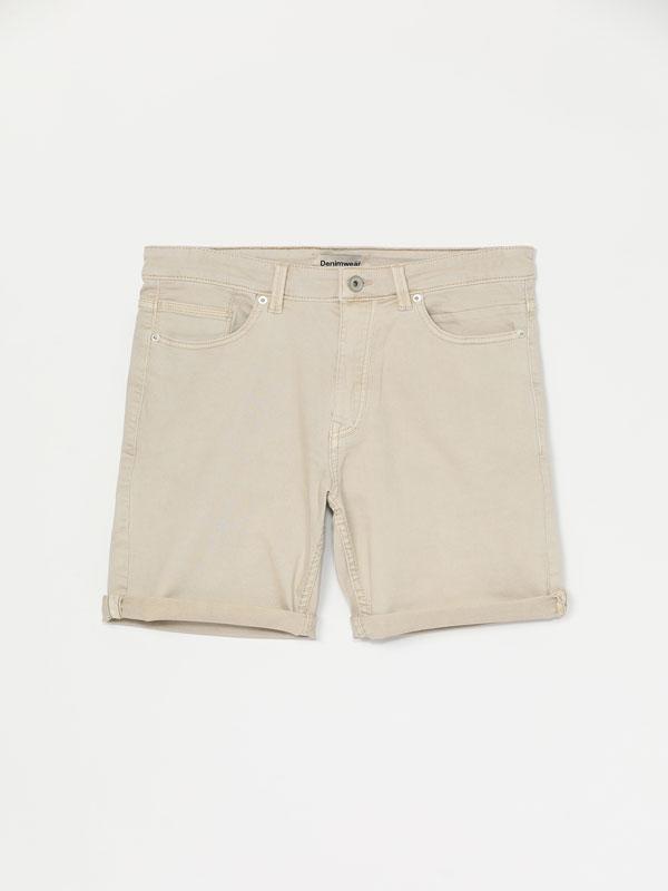 Bermudes de color Comfort Slim