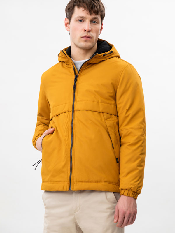 Quilted Parka with Hood