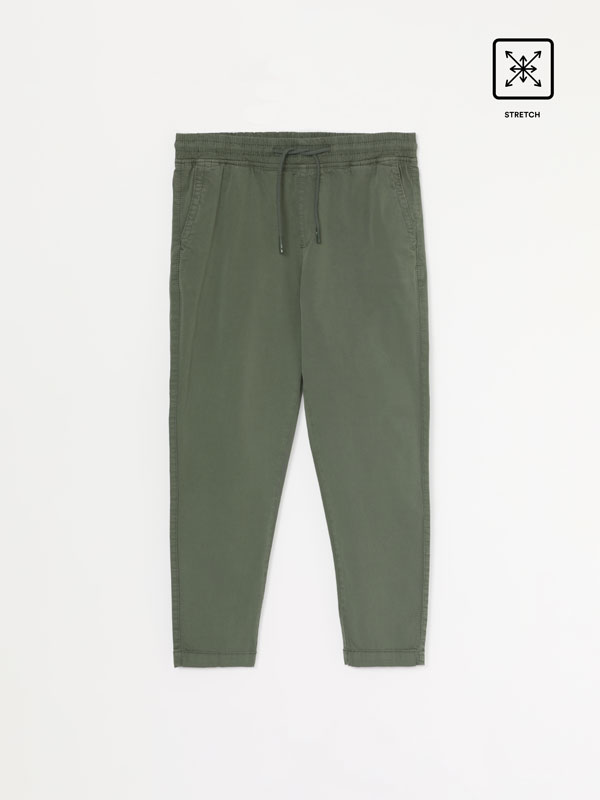 Stretch beach trousers