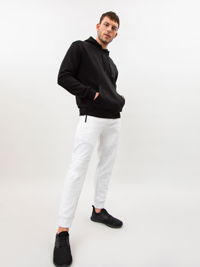 Jogging trousers in Ottoman weave